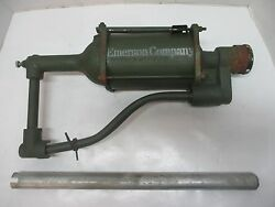 Vintage Emerson Company Gas Service Station Auto Lubester Oil Drum Hand Pump