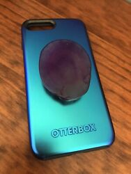 Iphone 7 Plus Cosmic Otterbox With Agate Phone Grip