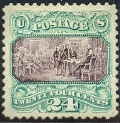 Us Stamps 130 Mint No Gum Pf Certificate Sound 1875 Special Printing 2091 Sold