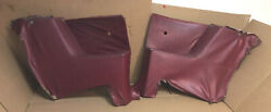 1968 And Other Ford Fairlane 500 Conv Landrh Rear Inner Quarter Trim Panels Red