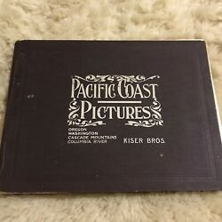 Pacific Coast Pictures Kiser Brothers Fred H. Kiser Columbia Cascade Crater Lake