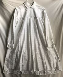 Thierry Colson Pleated Victorian Dress Size S