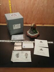 Bossons First Home Beaver Crown Collection Fraser Art Stonite Figurine W/cert