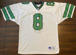 Rare Vintage Russell Athletic Nfl New York Jets Browning Nagle Football Jersey