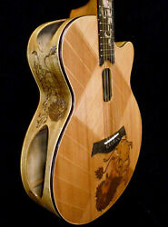 Blueberry Special Order Grand Concert Acoustic Guitar Delivery