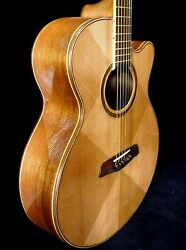 Blueberry Special Order Grand Concert Groove Acoustic Guitar - Delivery