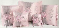 5 Piece Custom Sweet 15 Package With Butterfly - Paquete De Quinceanera Mariposa