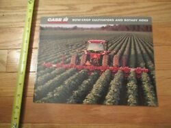 Case International Harvester Row Crop Cultivators Rotary Hoes Sales Brochure