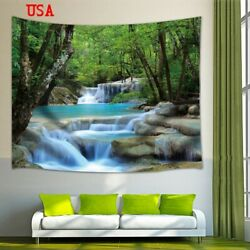 Art Landscape Wall Tapestry Nature Scenery Tapestry Wall Hanging Home Decor USA