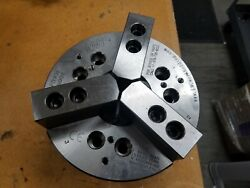 Lmc Workholding Three Jaw Power Chuck Pc-8-52-a6 Haas Oem New A26 Spindle