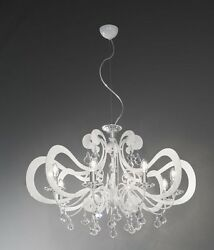 Suspended Lights Classic With Crystal Clear White