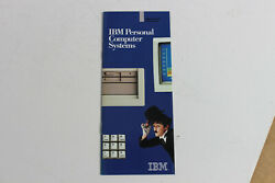 Rare Collectible Ibm Computer Systems Brochure 4860 5150 5155 5160 5170 20 Pages