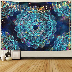 US Trippy Mandala Tapestry Wall Hanging Psychedelic Tapestry For Art Home Decor