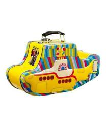 Beatles Yellow Submarine Collectible Trinket Lunch Box