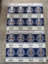 2007-2008 Atlanta Thrashers Playoffs Appearance Set Of 16 Tickets Suite
