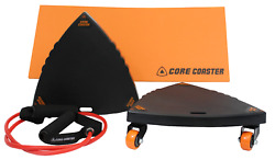 Core Coaster - Ab Core and Total Body Exercise Sliders  Carver Workout