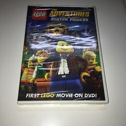 LEGO: The Adventures of Clutch Powers DVD 2010 Brand New $12.99