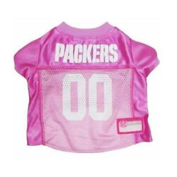 Green Bay Packers Pink Dog Jersey From Staygoldendoodle.com