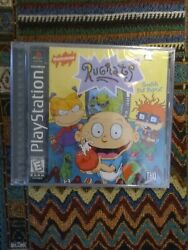 Rugrats Search For Reptar Brand New Sealed Ps1 Playstation 1 Black Label