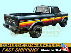 Compatible With1977-1979 Ford F100 F150f250 Ranger Free Wheeling Truck Stripes