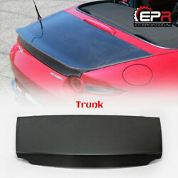 For Mazda Mx5 Nd5rc Nd Miata Soft Top Frp Unpainted Oe-style Rear Trunk Bootlid