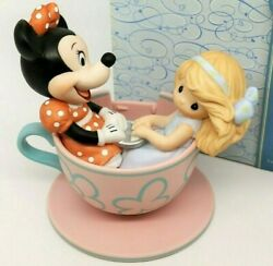 Precious Moments You Are My Cup Of Tea 790016 Disney Minnie And Girl In Cup