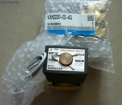 1pc New For Smc High Pressure Two-way Solenoid Valve Vxh2230-02-4g