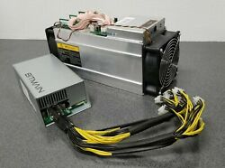Bitmain Antminer S9 Bitcoin Miner 13.5th Asic Miner W/ Apw3++ Psu Included Used