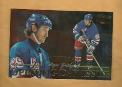 1997-98 Donruss Priority Postcards Opening Day Issue 10 Wayne Gretzky /1000