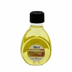 Refined Linseed Oil, 125ml / 4.2 Fluid Ounce Container, 2 Bottles