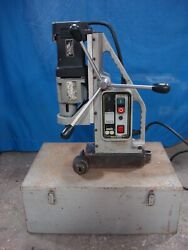 Unitec Eco 100/3 Reversible Variable Speed High Torque Magnetic Drill