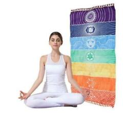 Yoga Tapestry Wall Hanging Home Décor Chakra Tapestry