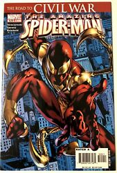 Amazing Spider Man #529 1st Iron Costume VF NM.