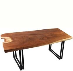 Living Edge Dining Table 6