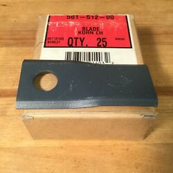 Tisco Disc Mower Blades - Kuhn John Deere New Holland Sold By The Blade