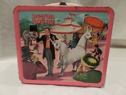 Doctor Dolittle Metal Lunch Box With Thermos Vintage 1967 Aladdin