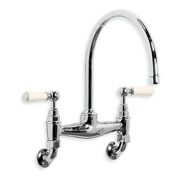 Lefroy Brooks Taps 1900 Classic Kitchen Mixer Wle1518 Classic Wall Mounted Kitch