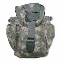 New Acu Camo 1 Qt Canteen And General Purpose Molle Ii Pouch 8465-01-525-0585