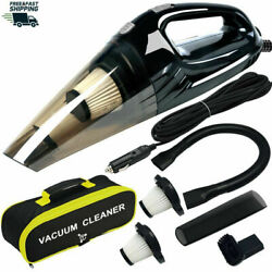 Powerful Car Vacuum Cleaner, Portable Wetanddry Handheld Strong Suction Car Vacuum
