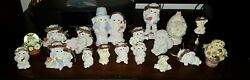 Lot Of Dreamsicles Cherub Angel Figurines Different Sizes And Seasons