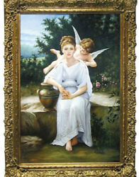 4465 Oil On Canvas, William-adolphe Bouguereau, Reproduction