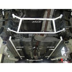 Side Lower Bar For Honda Accord Cm5 2.4 /v6 3.0 2wd And03903-and03907 Ultra Racing 8-pt