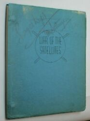 War Of The Satellites / Lawrence Goldman 1958 Screenplay Unknown Force Sci Fi