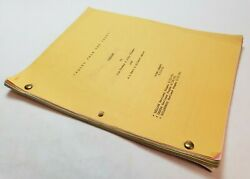 Tales From The Crypt / A L Katz And Jim Thomas 1991 Tv Series Script Yellow