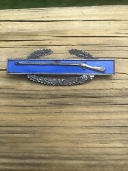 Wwii Sterling Army Cib Combat Infantry Badge