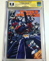 Cgc Ss 9.8 Transformers Generation 1 1 Signed Cullen Welker Ross Bell And Angel