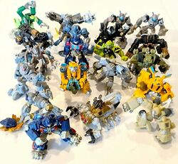 Choose 2007 Transformers Movie Robot Heroes Figurines Combine Shipping