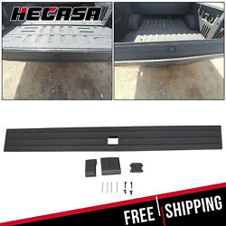 Tailgate Flexible Step Moulding Trim With Button For 2015-2020 Ford F-150