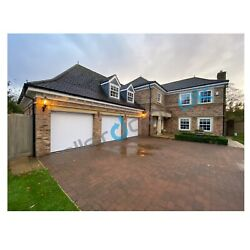 Electric Insulated Garage Door - Available In Different Colours