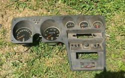 Opel Gauge Cluster Gt 1973 Dash Assembly Instrument As Is For Parts